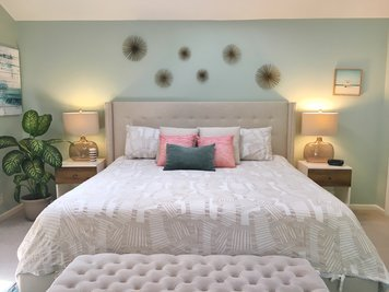 Online design Beach Bedroom by Christine M. thumbnail