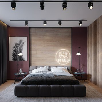 Online design Modern Bedroom by Lachin G. thumbnail