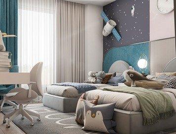 Online design Modern Kids Room by Zahra M. thumbnail