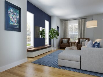 Online design Contemporary Living Room by Casey H. thumbnail