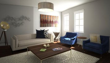 Online design Contemporary Living Room by Anna T thumbnail