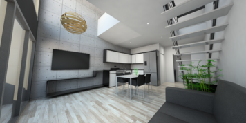 Online design Contemporary Combined Living/Dining by Camila C. thumbnail