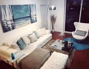 Online design Eclectic Living Room by Taize M. thumbnail