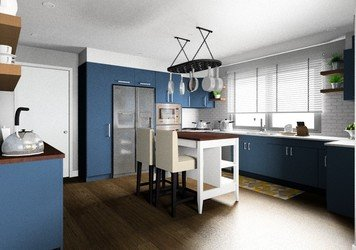 Online design Eclectic Kitchen by Noraina Aina M. thumbnail