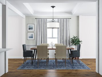 Online design Transitional Dining Room by Eda B. thumbnail
