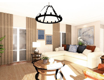 Online design Transitional Living Room by Noraina Aina M. thumbnail