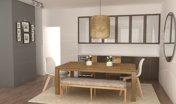 Online design Eclectic Dining Room by Zena A. thumbnail
