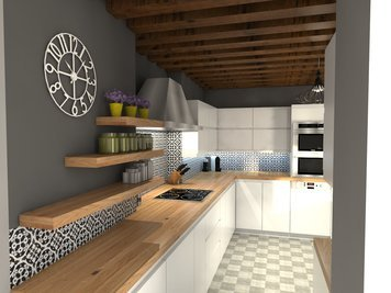 Online design Transitional Kitchen by lila n. thumbnail