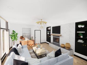 Online design Beach Living Room by Meghan E. thumbnail