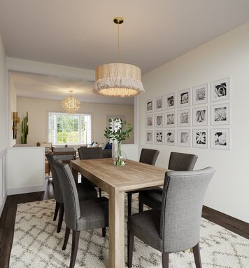 Online design Contemporary Dining Room by Casey H. thumbnail