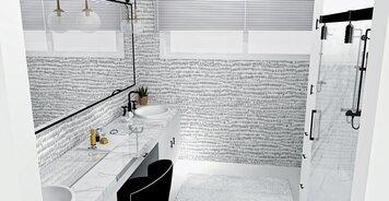 Online design Modern Bathroom by Brooke S. thumbnail