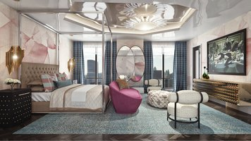 Online design Contemporary Bedroom by Andres S. thumbnail