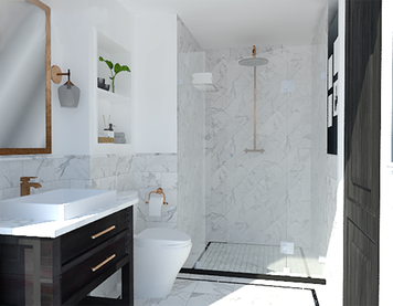 Online design Transitional Bathroom by Abby J. thumbnail