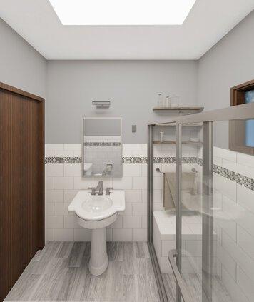 Online design Modern Bathroom by Heather W. thumbnail