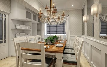 Online design Traditional Dining Room by Aida A. thumbnail