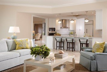 Online design Transitional Combined Living/Dining by Wanda P. thumbnail