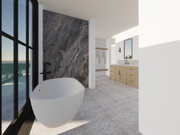 Online design Modern Bathroom by Shannon W. thumbnail