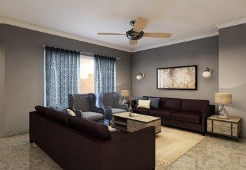 Online design Transitional Living Room by Gargi K. thumbnail