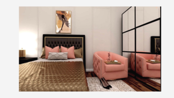 Online design Contemporary Bedroom by Chante F. thumbnail