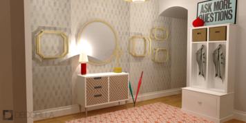 Online design Modern Hallway/Entry by Amber K. thumbnail