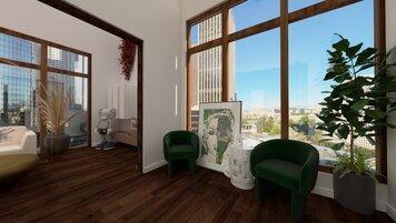 Online design Modern Hallway/Entry by Chante F. thumbnail