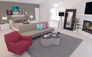 Online design Contemporary Bedroom by Elisabetta R. thumbnail