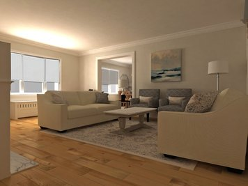 Online design Traditional Living Room by Dragana V. thumbnail