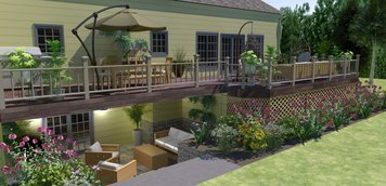 Online design Modern Combined Living/Dining by Brittany J. thumbnail