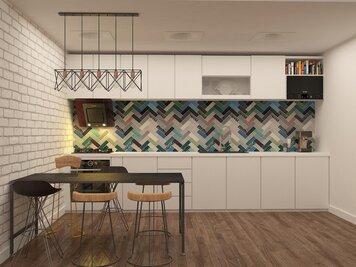 Online design Modern Kitchen by Lidija P. thumbnail