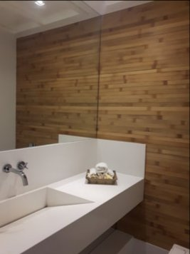 Online design Contemporary Bathroom by Monica F. thumbnail