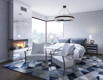 Online design Modern Bedroom by Samantha W. thumbnail