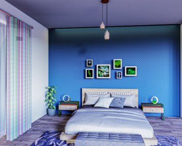 Online design Eclectic Bedroom by Mini G. thumbnail