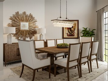 Online design Transitional Dining Room by Drew F. thumbnail