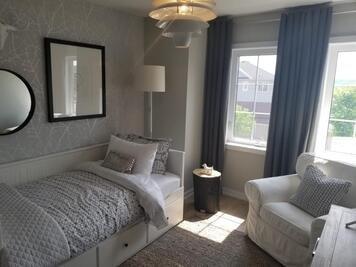 Online design Transitional Bedroom by Kiran K. thumbnail