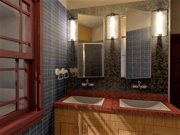 Online design Modern Bathroom by Sheena C. thumbnail