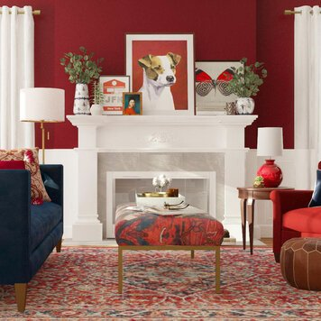 Online design Traditional Living Room by Aimee M. thumbnail