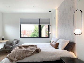 Online design Modern Bedroom by Johanna A. thumbnail