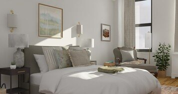 Online design Transitional Bedroom by Jacky G. thumbnail