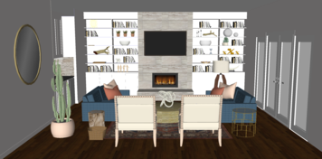 Online design Eclectic Living Room by Lindsay D. thumbnail