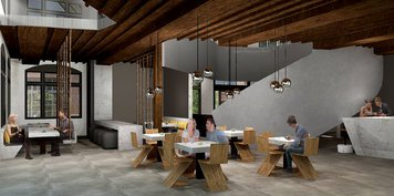 Online design Contemporary Dining Room by Lauren Z. thumbnail