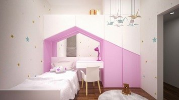 Online design Contemporary Kids Room by FatehahCheMat thumbnail