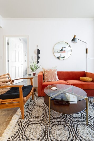 Online design Eclectic Living Room by Andréa P. thumbnail