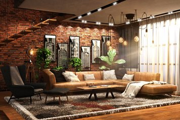 Online design Country/Cottage Living Room by Zahra M. thumbnail