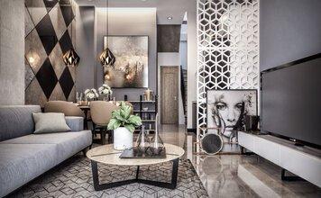 Online design Modern Living Room by Lam K. thumbnail