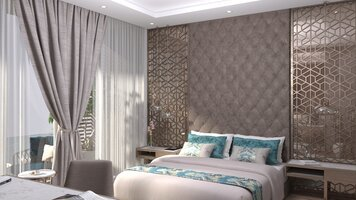 Online design Glamorous Bedroom by Hatice U. thumbnail
