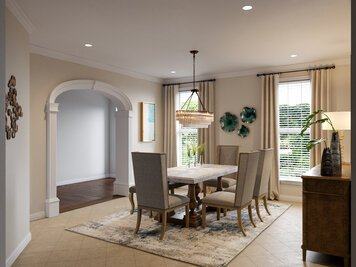 Online design Traditional Dining Room by Berkeley H. thumbnail