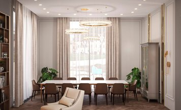 Online design Contemporary Dining Room by Saltanat B. thumbnail