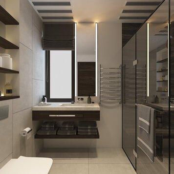 Online design Modern Bathroom by Bojan V. thumbnail
