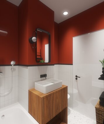 Online design Modern Bathroom by Marcu E. thumbnail