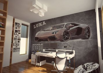 Online design Modern Kids Room by Rajna S. thumbnail